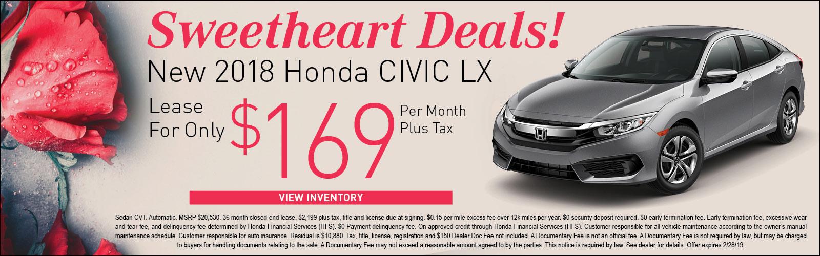 Honda Civic LX 020519