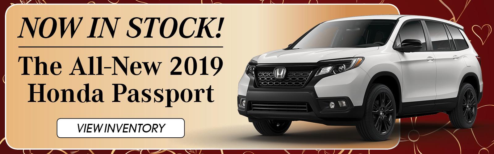 Honda Passport 020519