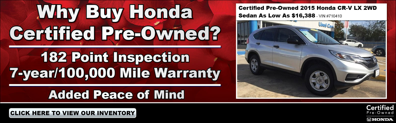 Certified Pre-Owned 020519