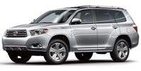 Toyota Highlander Starting at $45.00 per day