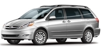 Toyota Sienna Starting at $45.00 per day