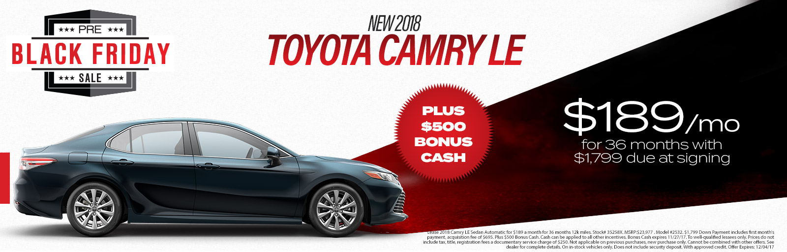 Camry 11/21 updated