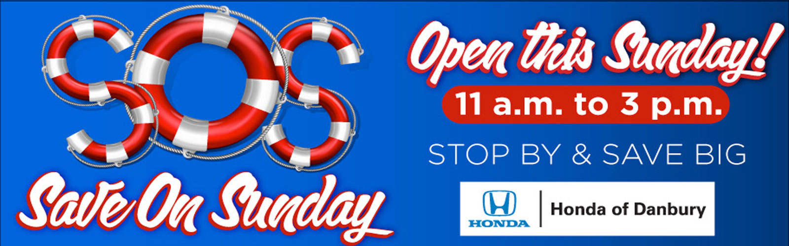 Open Sunday 7/27