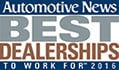 Automotive News - Best Dealerships to work for 2016