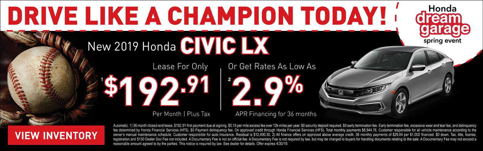 Civic LX 04/04