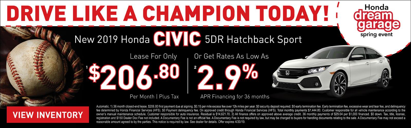 Civic Hatchback 04/04