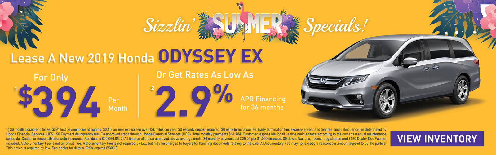 Odyssey 6/4/19