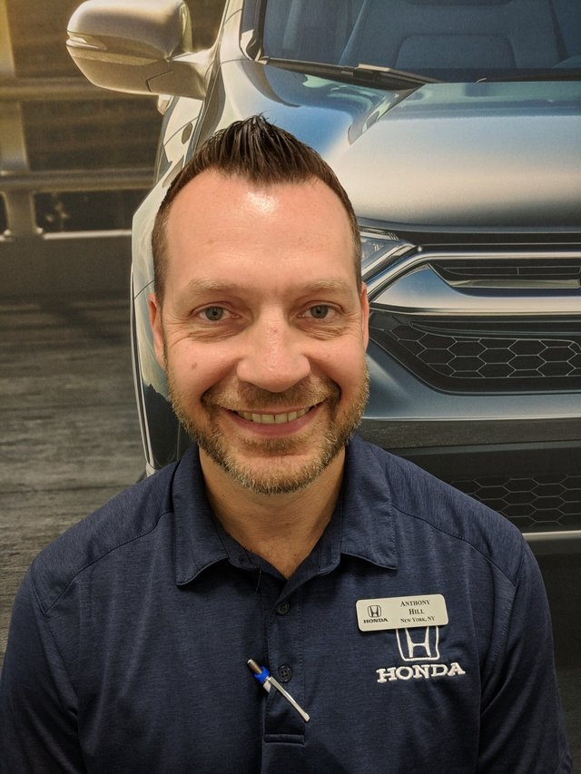 Anthony Hill  Sales Consultant
