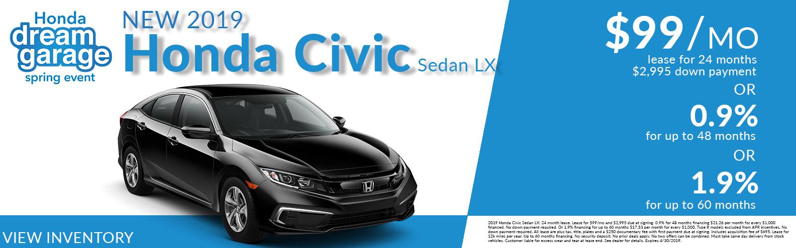 Civic updated 4/20/19