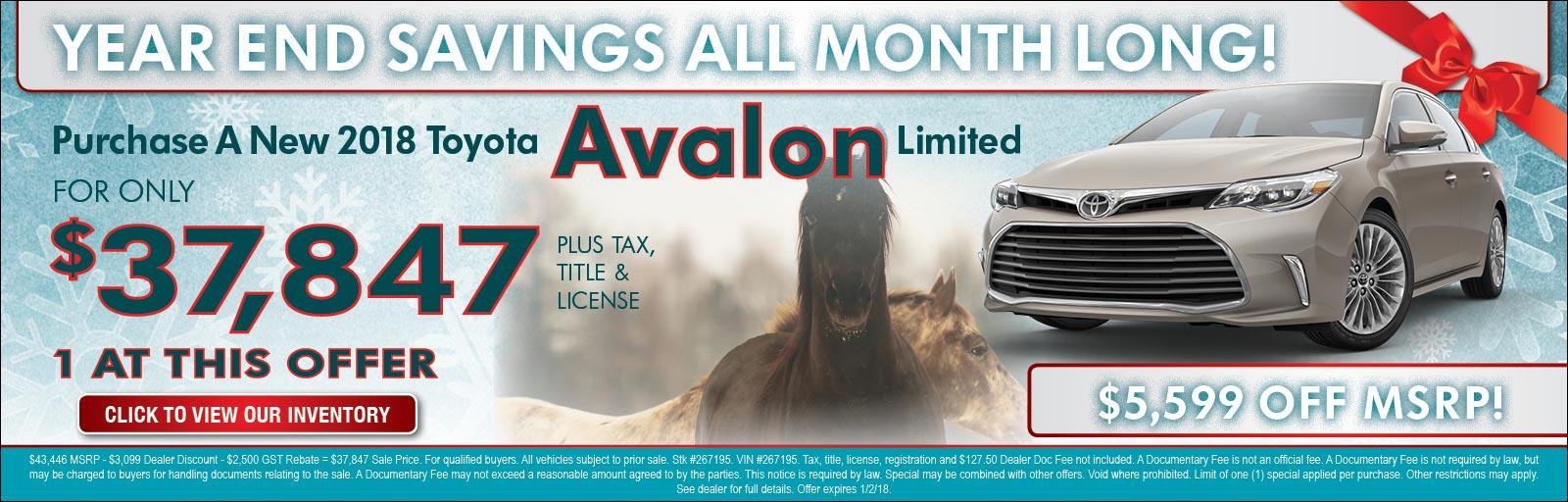 Avalon 12/14/17