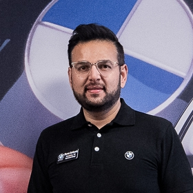 Sheraz Sahibzada New BMW Internet Sales Manager