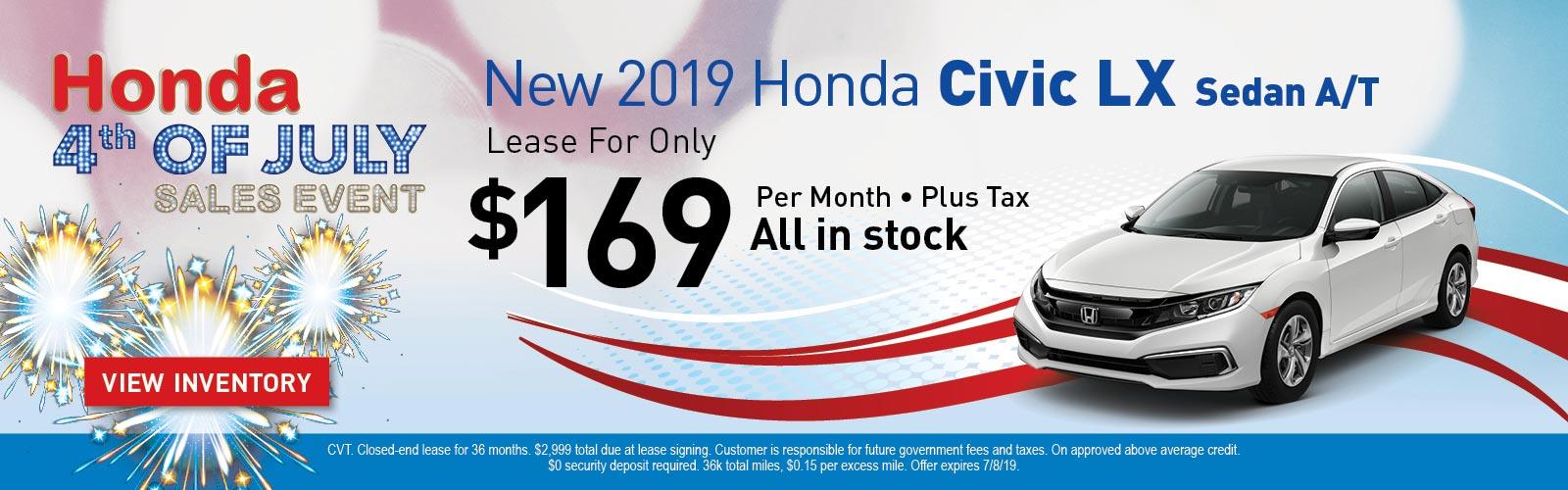 Civic LX 06/12