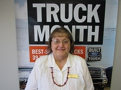 Sharon Joslin Warranty Clerk