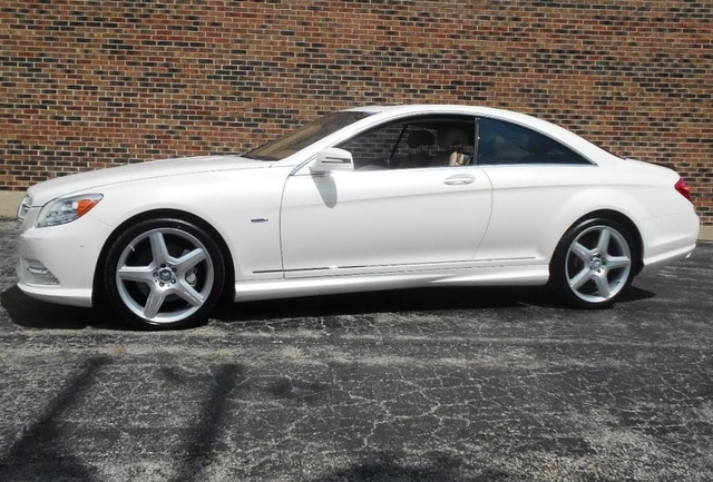 Mercedes-Benz CL550 Coupe 4Matic
