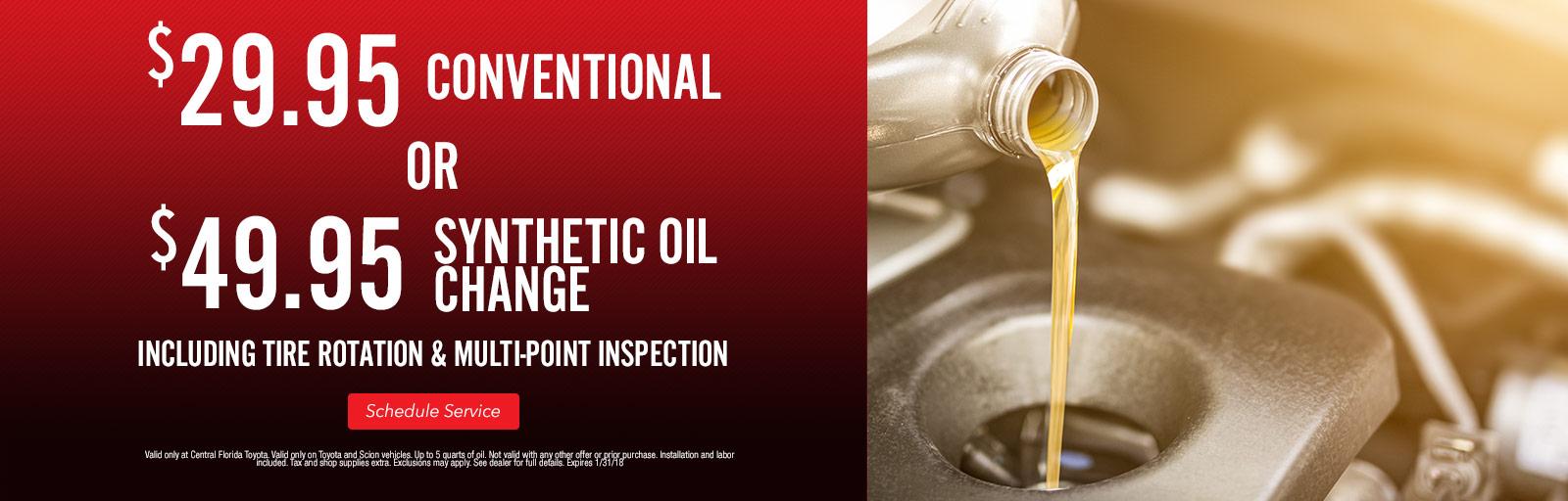 Oil Change 1/3/18