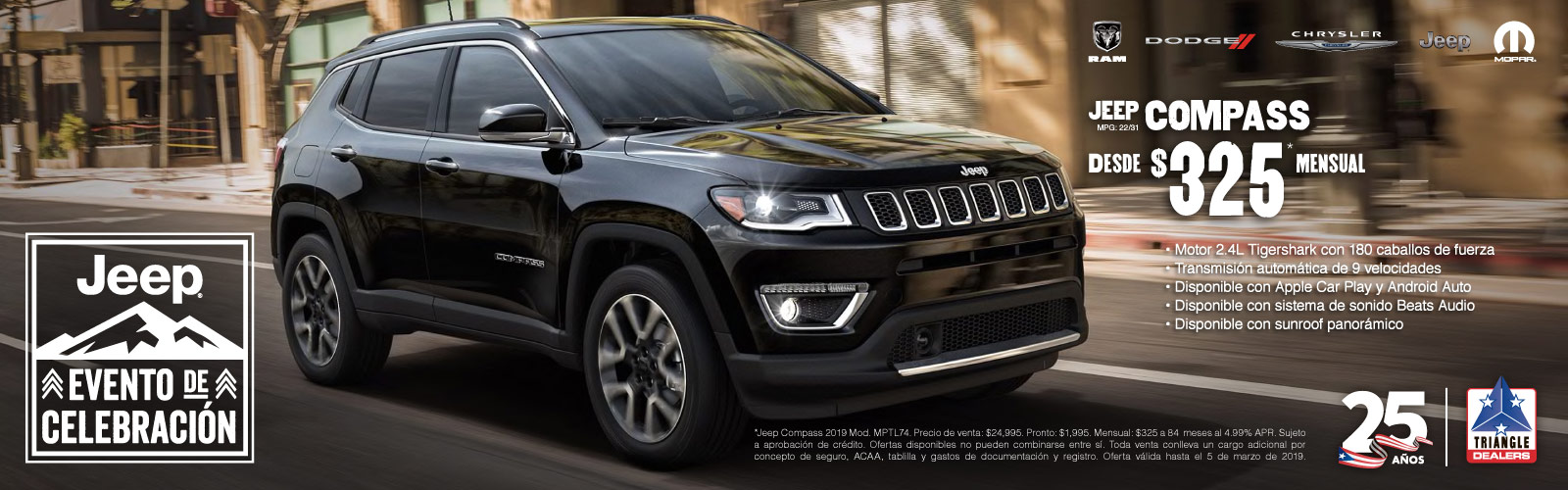 Jeep Compass 325 21 febrero 2019