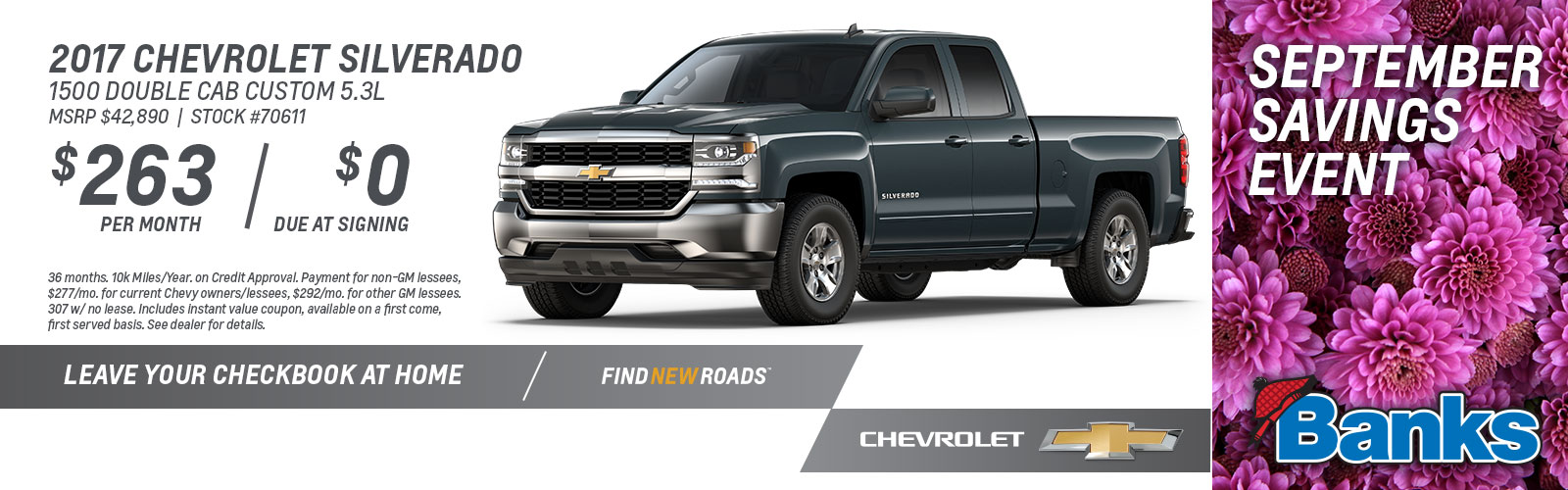 Chevy Silverado Lease Special September 2017 Updat