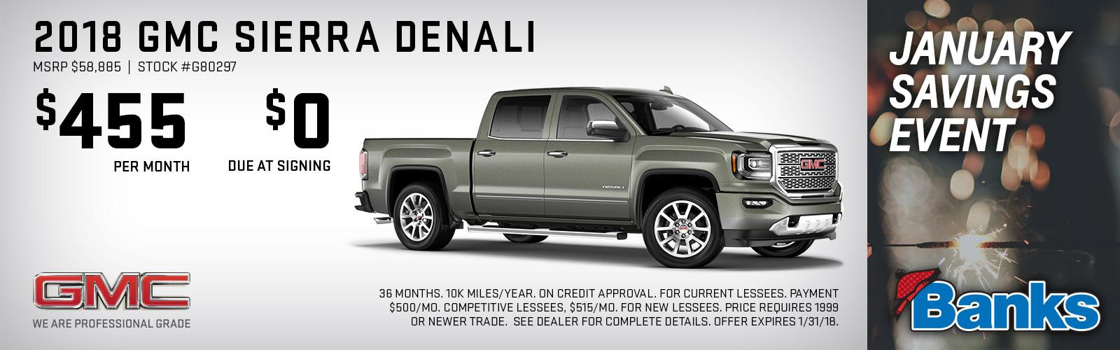 NH Lease Deals Sierra Denali Jan 2018