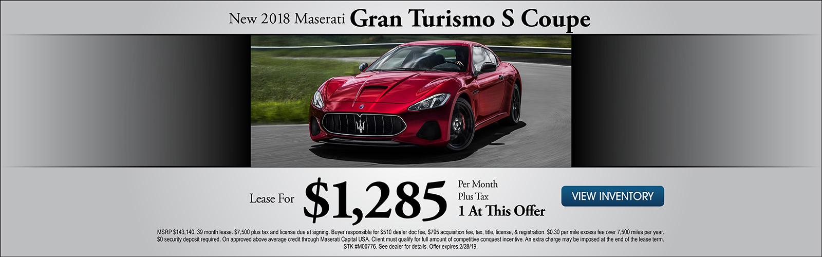 Gran Turismo 2/8/19