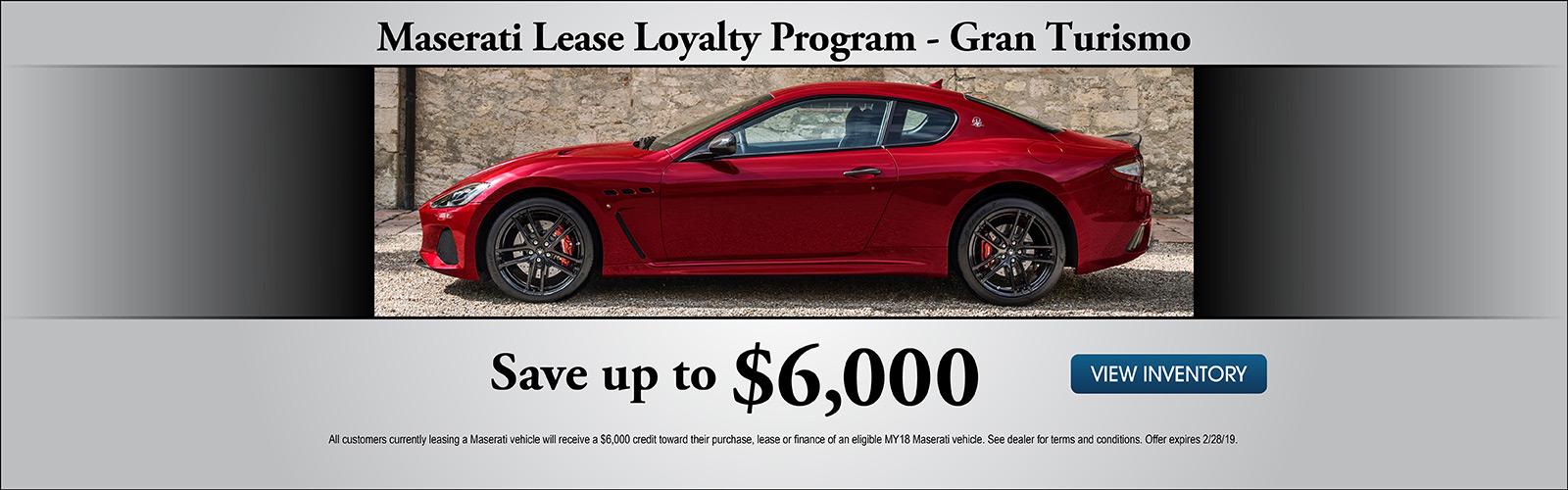 Gran Turismo Loyalty 2/8/19