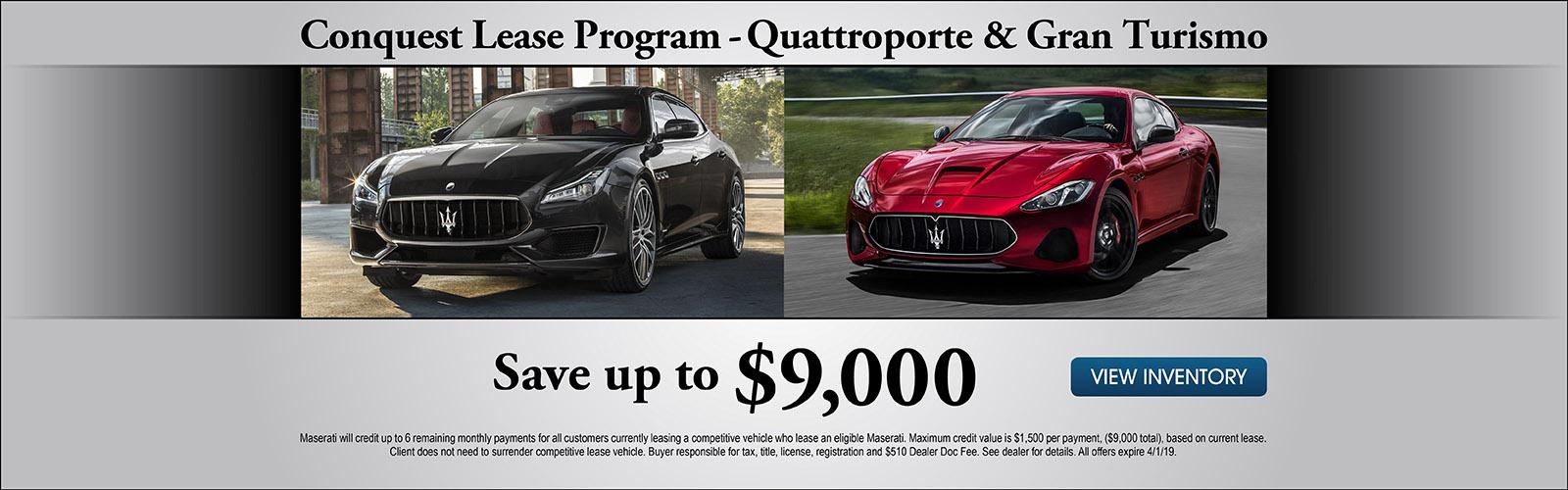 Quattroporte/Gran Turismo 3/8/19