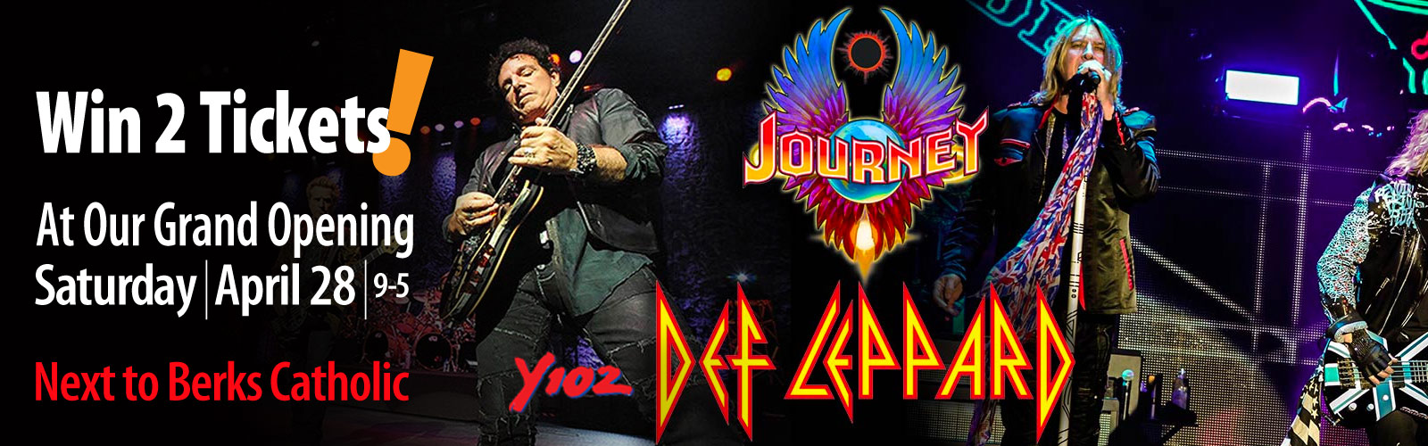 Masano Journey Def Leppard Grand Opening