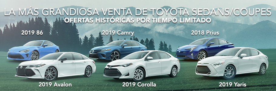 Toyota Sedans and Coupes