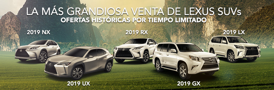 Lexus SUVs