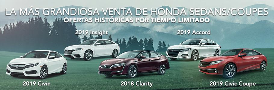 Honda Sedans and Coupes