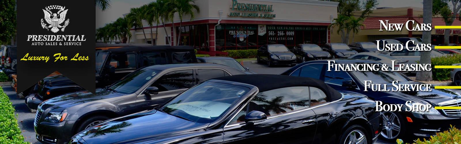 Presidential Auto Sales >> Used Cars For Sale Palm Beach Boca Raton Delray Beach Fl