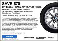 Tire Discount Coupon - 97907