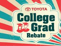 Receive a $500 College Grad Rebate in addition to current TMS Incentives