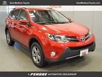 Yes, you read that correct! 0% APR for 72 months on 2017 Rav4!