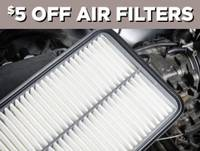 $5 off Air Filters