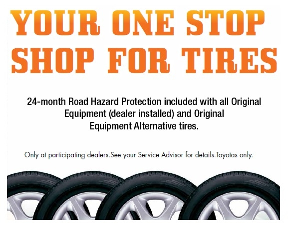 Your One Stop Shop for Tires