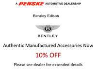 Bentley Authentic Accessories Sale