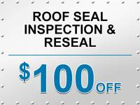 Roof Seal Inspection & Reseal