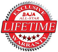 Baja All-Star Lifetime Warranty