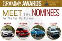 Nominees for Best Cars
