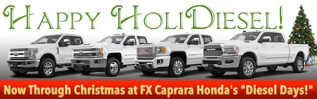 Fx Caprara Honda Watertown Ny >> Happy Holi-Diesel! | F.X. Caprara Honda of Watertown