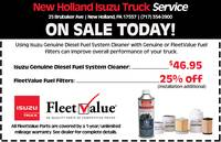 Fuel Filters & Fuel System Cleaner Special