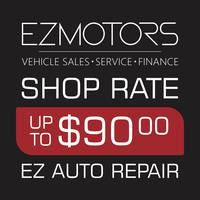 EZMOTORS will charge you less, be a higher quality of work and be done sooner.