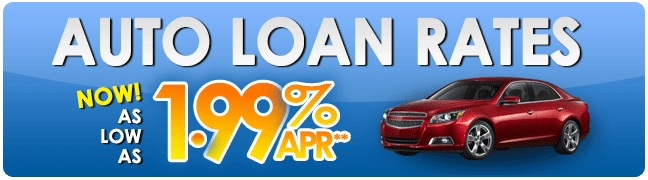 Rates As Low As 1.99% APR!!!