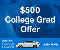 Honda Financial Services (HFS) wants to celebrate that it's your time to celebrate!!!