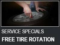 Tire Rotation only $49.99