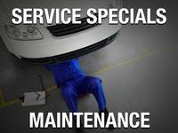 Oil and Filter Change Special for 5/20 and 5/30 weight oil