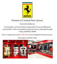 Ferrari Apparel and Accessories