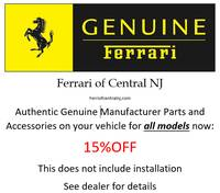 Ferrrai Genuine Accessories on All Models