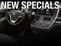 New Toyota Vehicle Specials