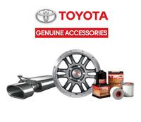 Get 15% off the purchase of Genuine Toyota Accessories